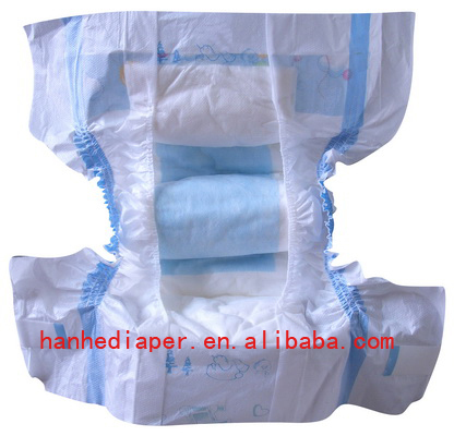 Good Absorbency Baby Diapers With Adl