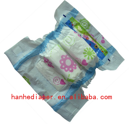 Good Sale Baby Diapers Wth Printed Pe Backsheet