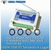 Gprs Temperature Recorder S260 Record And Alarm For Organ Transport