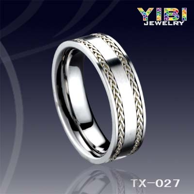 Gps Chip For Jewelry Tungsten Ring Mens