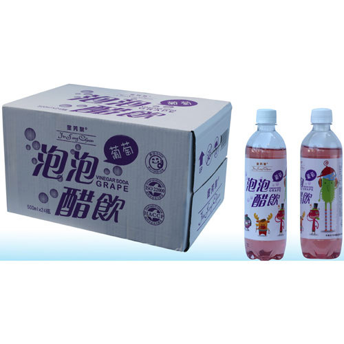 Grapes Vinegar Soda Jin Fang