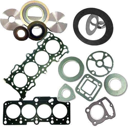 Graphite Compound Seal Gasket With Tanged Metal Material Reinforced Gaskets