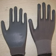 Gray Nitrile Coated Working Gloves Ng1501 6