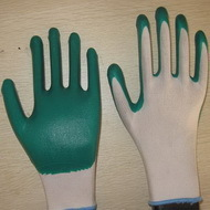 Green Nitrile Coated Working Gloves Ng1501 3