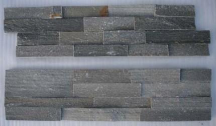 Green Quartzite Stone Panel Zfw013c