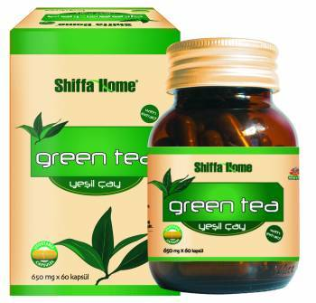 Green Tea Natural Herbal Capsule For Refreshing Yourself 650 Mg X 60