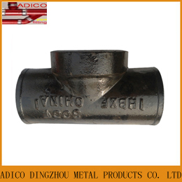 Grey Cast Iron Astm A888 Test Tee Pipe Fittings