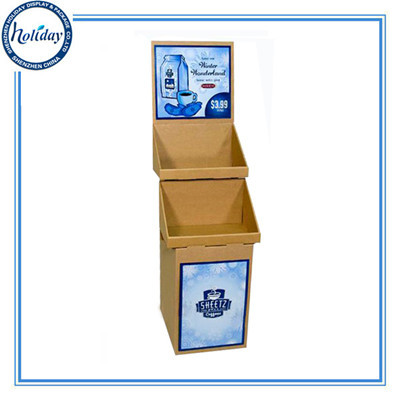 Grocery Store Ladder Shaped Storage Display Box Promotional Tire Hanging Fo