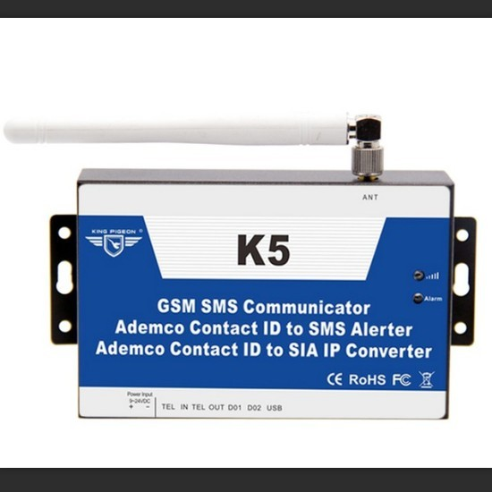Gsm Cid Converter Pstn Ademco Contact Id To Sia Ip