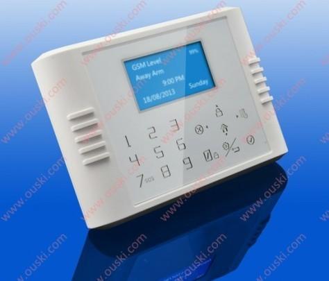 Gsm Pstn Home Burglar Alarm System Pg80