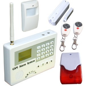 Gsm Sms Alarm System S110