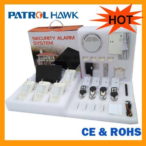 Gsm Sms And Voice Dialing Alarm Mode Wireless Burglar Home Security Smart S