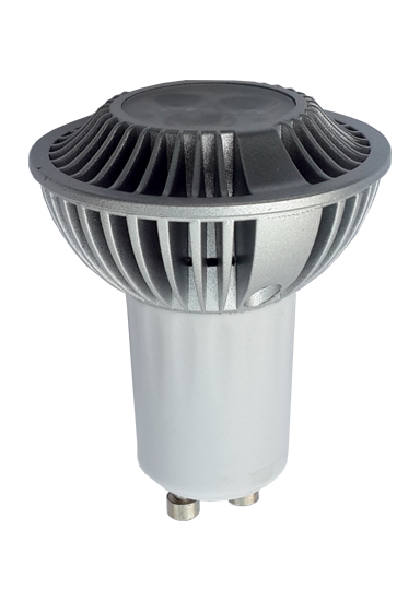 Gu10 10w Led Spotlight With Isolated Driver Dimmable Lifespan 50000 Hours