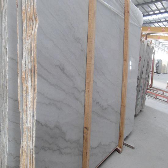 Guangxi White Marble Slab Tile