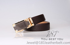 Guangzhou 181 Men S Genuine Leather Belt With Auto Buckle
