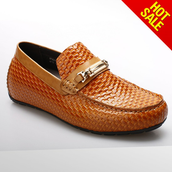 Guangzhou Factory Handmade Italian Slip On Boat Shoes 032h16