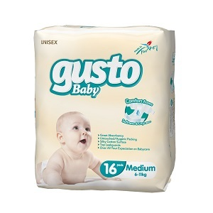 Gusto Baby Diaper Pampers Diapers