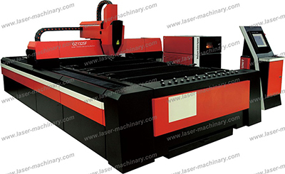 Gz1325f Fiber Laser Cutting Machine