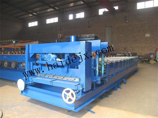 Haide 820 Glazed Roll Forming Machine