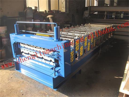 Haide Double Layer Roll Forming Machine 840 900