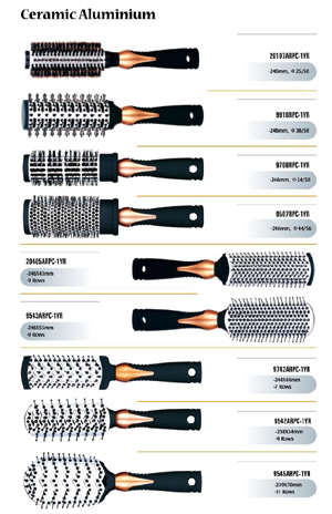 Hair Bruhes Made Of Different Designs Materials And Quality