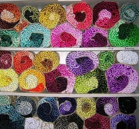 Hand Dyed Natural Silk Embroidery Thread