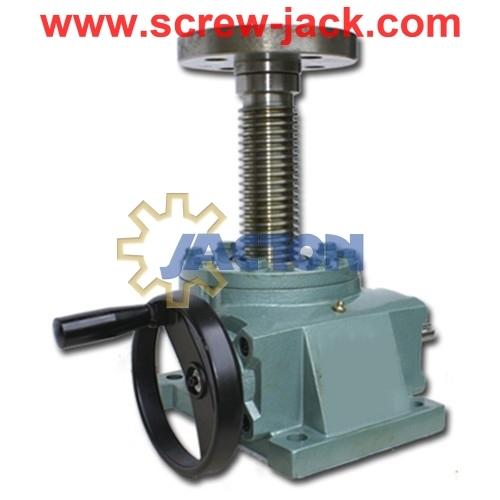 Hand Wheel Worm Gear Screw Jack