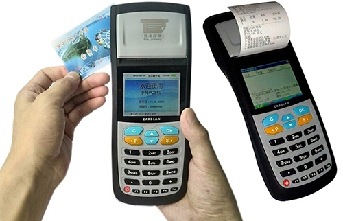 Handheld Bus Ticketing Machine With Thermal Printer Can Read Mifare Card Fo