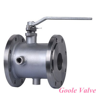 Handle Jacketed Ball Valve