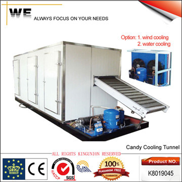 Hard Candy Cooling Tunnel