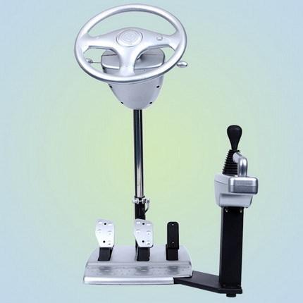 Has Game Steering Wheel Vechicle Simulator Machine