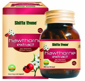 Hawthorne Natural Herbal Capsule For Heart Health 400 Mg X 60