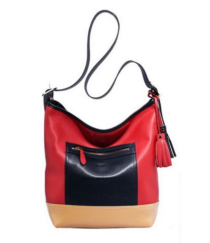 Hb 0605035 Leather Handbag
