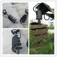 Hcn Bm02 Auger Drilling Attachment For Wheel Loader