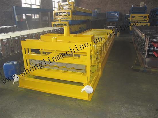 Hd 1100 Glazed Roll Forming Machine
