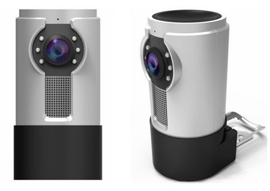 Hd 360 Degree Megapixel Fisheye Camera