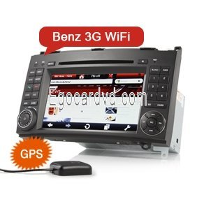 Hd 7 2 Din Special Car Multimedia Player With Gps Tv Ipod For Benz