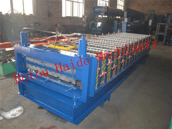 Hd Double Layer Roll Forming Machine 840 850