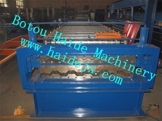 Hd Double Roll Forming Machine C21 H35