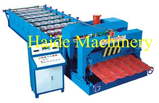 Hd Type 828 Glazed Roll Forming Machine