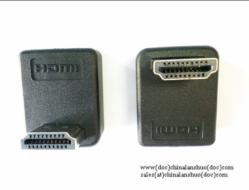 Hdmi A Male To Female 90 Degree Adapter