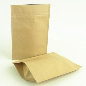 Heat Seal Paper Foil Bag With Ziplock