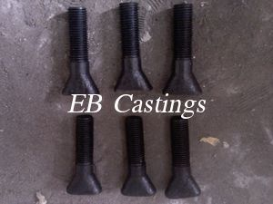 Heat Treated 12 9 Grade High Strength Bolts For Mill Liners Eb008