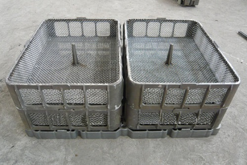 Heat Treatment Basket Casting Parts With Cr25ni14 For Annealing Furnaces Eb