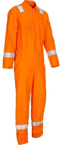 Heavy Drill Cotton Flame Resistant Coverall