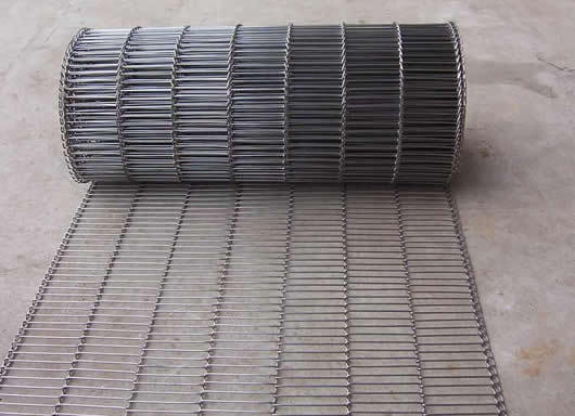 Heavy Duty Flat Wire Conveyor Belt