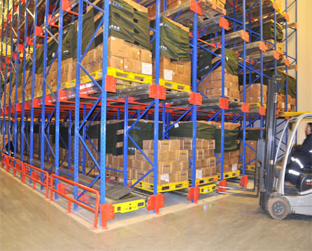 Heavy Duty Pallet Racking For Warehouse And Factory