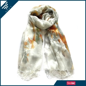 Heft Elegant Polyester Scarf For Lady