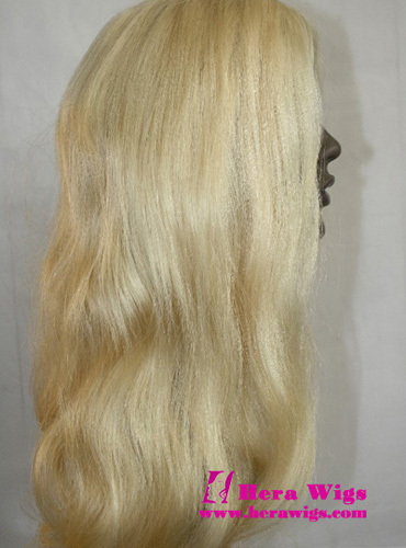 Hera 20inches Wavy Indian Remy Hair Full Lace Wigs
