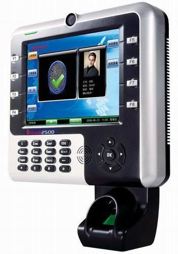 Hf Iclock2800 Touch Color Screen Fingerprint Recognition Time Attendance